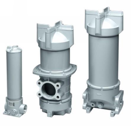 NF Линейные фильтры  до 3500 л/мин, до 25 бар